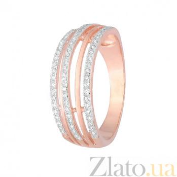 Кольцо из серебра с цирконием Аделис 000028389