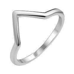 Серебряное кольцо в стиле минимализм 000112728