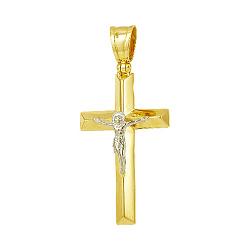 Крестик из золота Святое распятие 000042459