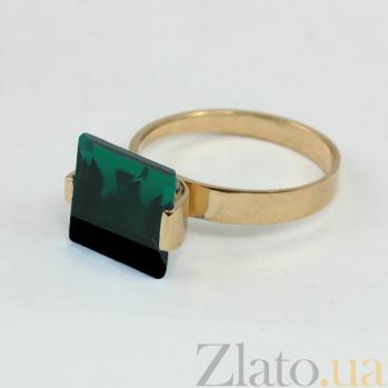 Кольцо из красного золота Ирма с синтезированным аметистом VLN--112-087-55