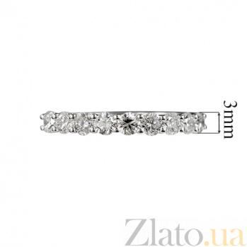 Кольцо из белого золота с бриллиантами Обаяние 000026882