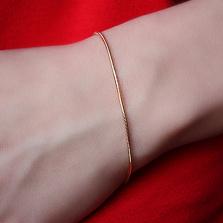 Браслет из красного золота Амикс