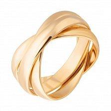 Обручальное кольцо из желтого золота, 3 мм