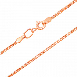 Золотая цепочка Колосок, 1мм