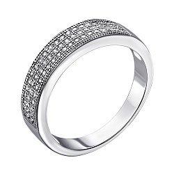 Кольцо из серебра с фианитами 000028256