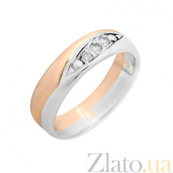 Золотое кольцо с бриллиантами Леди Совершенство VLA--14420