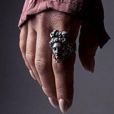 Серебряный перстень Aphrodite с золотым кляпом