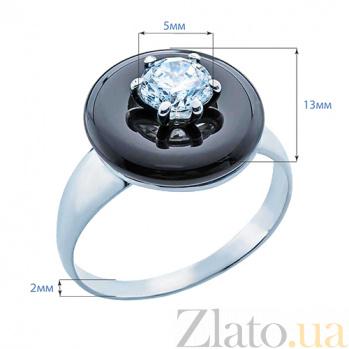 Серебряное кольцо с агатом Нера AQA--Т379667К Аг- ч