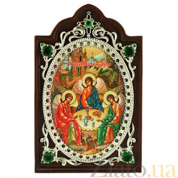 Серебряная икона Святая Троица 2.78.0612