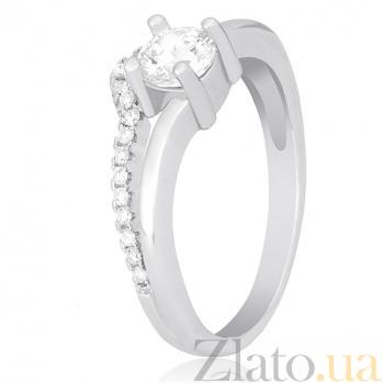 Серебряное кольцо Авис с фианитами  000030928