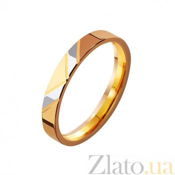 Золотое обручальное кольцо Победа TRF--4111108