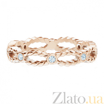 Обручальное кольцо из розового золота Загадки Галактики: Стремительный порыв 187