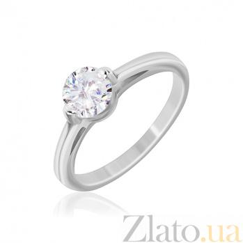 Серебряное кольцо Эдвалда с фианитом 000030934