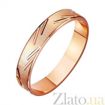 Золотое обручальное кольцо Артемида TRF--411077