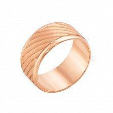 Золотое обручальное кольцо с алмазной гранью Рочестер