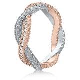 Золотое обручальное кольцо с бриллиантами Загадки Галактики: Золотое сечение
