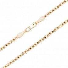 Золотая цепочка Гармаш в якорном плетении, 2мм