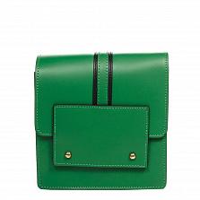 Клатч Italian Bags 1721_green Кожаный Зеленый