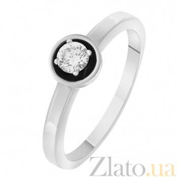 Кольцо из белого золота с бриллиантом Гликерия SVA--1190391202/Бриллиант