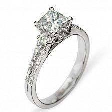 Кольцо из белого золота Мadlen с бриллиантами