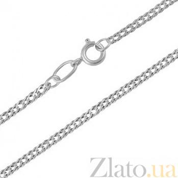 Серебряная родированная цепочка Рембо LEL--10517