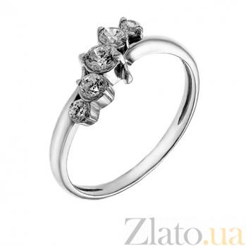 Серебряное кольцо с фианитами Аделис AUR--71417бau