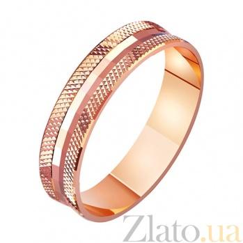 Золотое обручальное кольцо Мисс элегантность TRF--411032