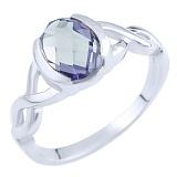 Серебряное кольцо Селена с александритом