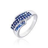 Серебряное кольцо с цирконием Сидней