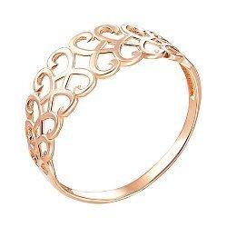 Кольцо из красного золота 000141187