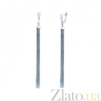 Серебряные серьги Феликсана AQA--Тс-480051