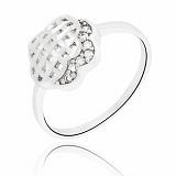 Кольцо из серебра Мадлен