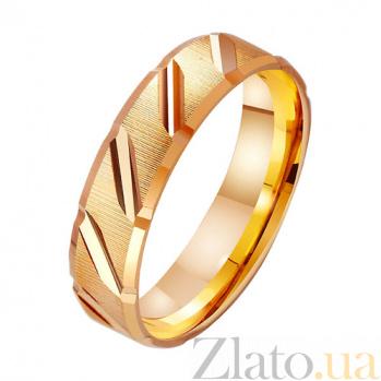 Золотое обручальное кольцо Мелодия TRF--411108
