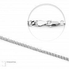 Серебряная цепочка Антарктика плетения Нонна, 2мм