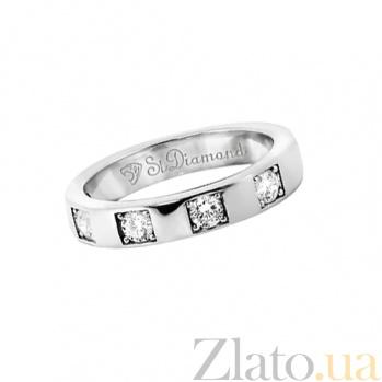 Золотое кольцо с топазами Источник счастья 000029785