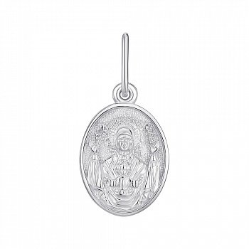 Ладанка из серебра Знамение 000145998