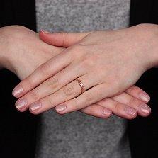 Кольцо в красном золоте Узорная сказка