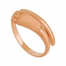 Кольцо из красного золота Новая жизнь