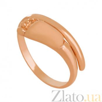 Кольцо из красного золота Новая жизнь VLN--312-1787