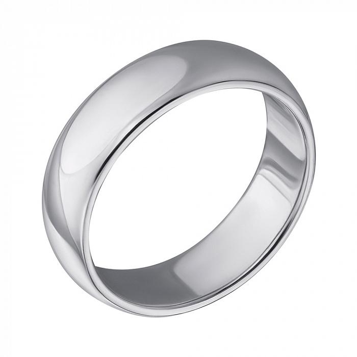 Серебряное обручальное кольцо Возможность 000043620