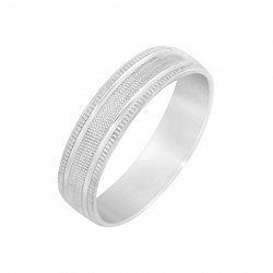 Серебряное обручальное кольцо 000093683