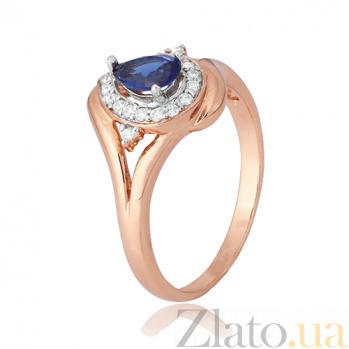 Серебряное кольцо с цирконием Аминда 000028449