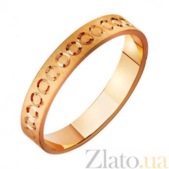 Золотое обручальное кольцо Символ любви TRF--411082