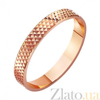Золотое обручальное кольцо Рай для двоих TRF--411017