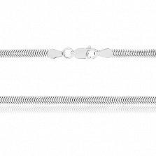Серебряная цепь Фиона, 45 см