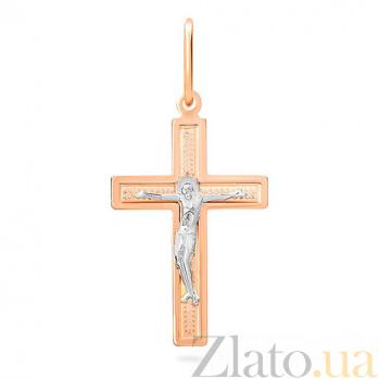 Золотой крестик Духовная сила SUF--518901р