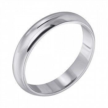 Серебряное обручальное кольцо 000102980