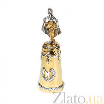 Серебряная рюмка с позолотой Императрица Жозефина 574/к