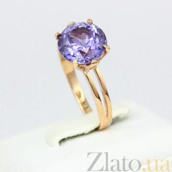 Золотое кольцо с александритом Лазурь 000030779