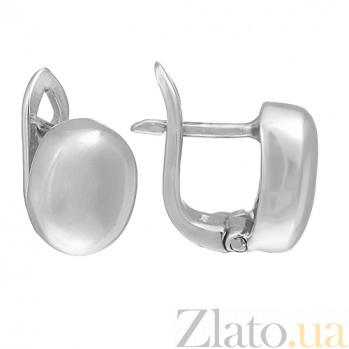 Серебряные серьги Аттика 10030158